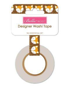 Foxy Washi Tape
