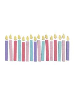 Birthday Candles Thinlits Die - Kath Breen - Sizzix