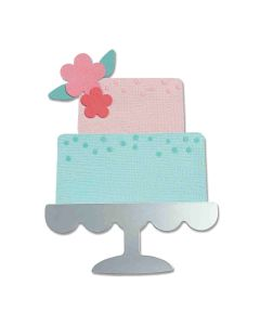 Celebration Cake Bigz Die - Alexis Trimble - Sizzix