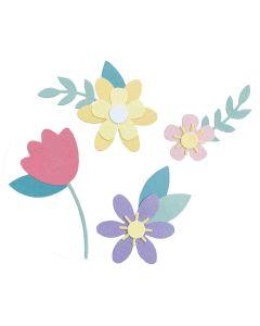 Spring Flowers Bigz Die - Jennifer Ogborn - Sizzix