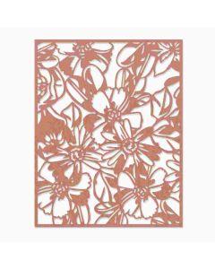 Flowery Thinlits Die - Tim Holtz - Sizzix