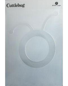 Circle Head (5 x 7) Cuttlebug Embossing Folder - Cricut - Clearance