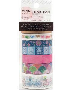 Pink Paislee Washi Tape  Horizon