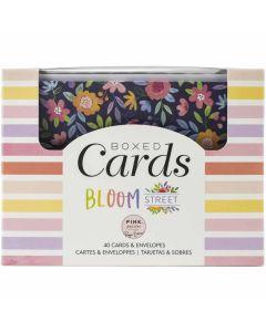 Bloom Street Boxed Card Set - Paige Evans - Pink Paislee*