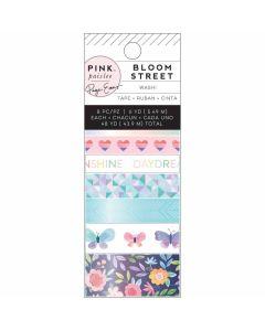 Bloom Street Washi Tape Rolls - Paige Evans - Pink Paislee*