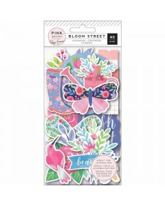 Bloom Street Ephemera - Paige Evans - Pink Paislee*
