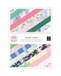 "Bloom Street 6"" x 8"" Specialty Paper Pad - Pink Paislee*"