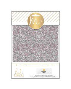 Silver Glitter Sheets
