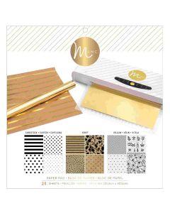 Multicolor Reactive Paper Pad