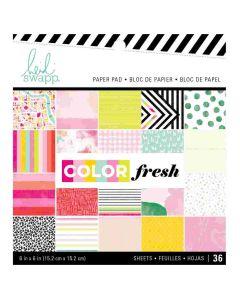 "Color Fresh 6"" x 6"" Paper Pad"