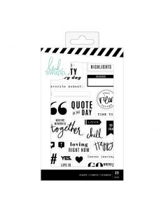 Color Fresh Planner Stamp Set
