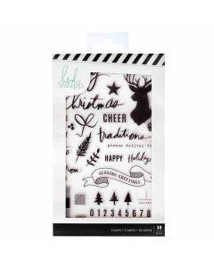Winter Wonderland Clear Stamps - Heidi Swapp