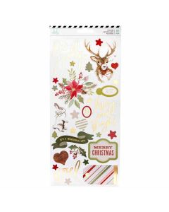"Winter Wonderland 6"" x 12"" Cardstock Stickers - Heidi Swapp"