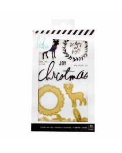 Winter Wonderland Stamp & Die Set - Heidi Swapp