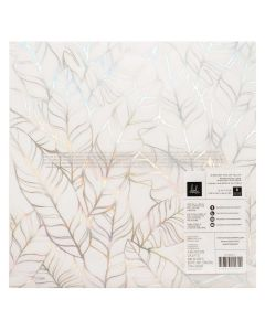 "Old School 12"" x 12"" Vellum Sheet, Iridescent Foil - Heidi Swapp*"