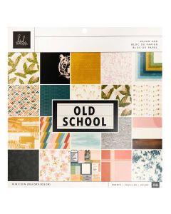 "Old School 12"" x 12"" Paper Pad - Heidi Swapp*"