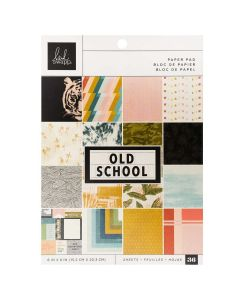 "Old School 6"" x 8"" Paper Pad - Heidi Swapp*"
