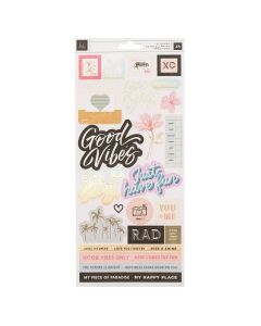 Old School Iridescent Foil Stickers - Heidi Swapp*