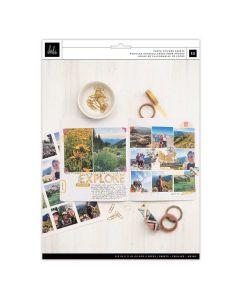 Storyline Chapters Photo Sticker Sheets - Heidi Swapp