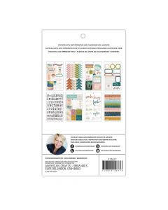 Carefree Sticker Book - Heidi Swapp