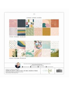 "Carefree 12"" x 12"" Paper Pad - Heidi Swapp"