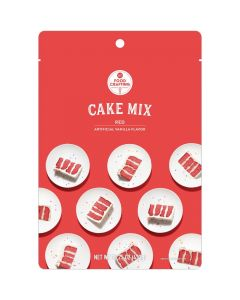 Red Cake Mix, 15.25 oz - Food Crafting - American Crafts