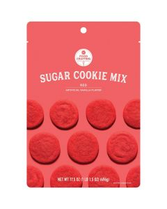 Red Sugar Cookie Mix, 1 lb - Food Crafting - American Crafts