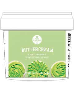 Green Buttercream Tub, 1 lb - Food Crafting - American Crafts
