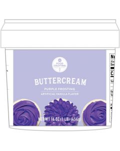 Purple Buttercream Tub, 1 lb - Food Crafting - American Crafts