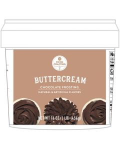Brown Chocolate Buttercream Tub, 1 lb - Food Crafting - American Crafts