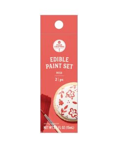 Red Edible Paint, 0.5 oz - Food Crafting - American Crafts