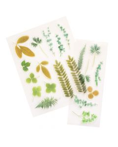 Color Pour Resin Acetate Leaves - American Crafts