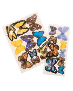 Color Pour Resin Acetate Butterfly - American Crafts