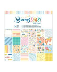 "Buenos Dias 12"" x 12"" Paper Pad - American Crafts"