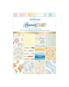 """Buenos Dias 6"""" x 8"""" Specialty Paper Pad - American Crafts"""