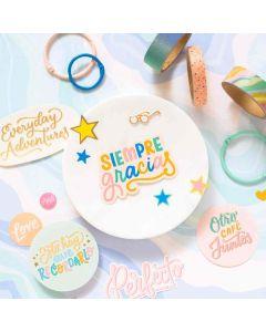 Buenos Dias Accent & Phrase Stickers - American Crafts