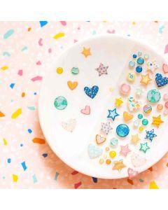 Buenos Dias Enamel Dots - American Crafts