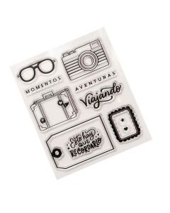 Aventuras Stamps - Buenos Dias - American Crafts