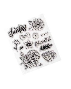 Juntos Stamps - Buenos Dias - American Crafts