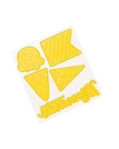 Yellow Dies - Buenos Dias - American Crafts