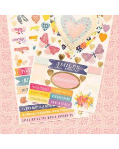 Wonders Accent & Phrase Stickers - American Crafts