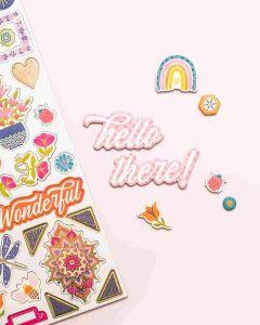 Wonders Chipboard Stickers - American Crafts