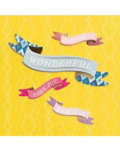 Banners Dimensional Stickers - Wonders - American Crafts