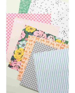 """Garden Party 12"""" x 12"""" Paper Pad - American Crafts*"""