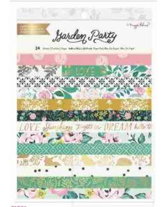 """Garden Party 6"""" x 8"""" Paper Pad - American Crafts*"""