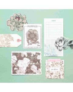 Garden Party Ephemera Pack - American Crafts