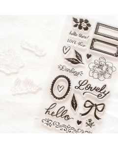 Garden Party Stamps - American Crafts