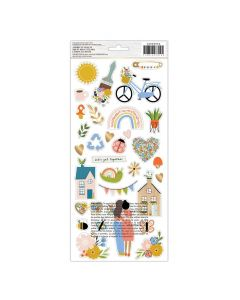 Reaching Out Stickers - American Crafts