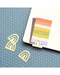 Reaching Out Rainbow Clips - American Crafts