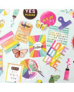 Color Study Journaling Ephemera - American Crafts